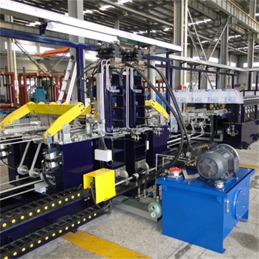 Refrigerator Side Panel Roll Forming Machine