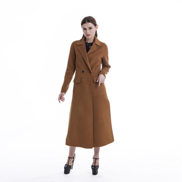 New styles  camel cashmere coat