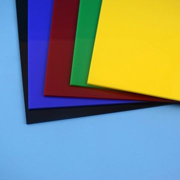 High Glossy Colored PMMA Acrylic Sheet