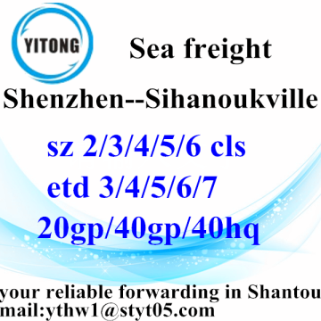 Shenzhen Shipping Container to Sihanoukville