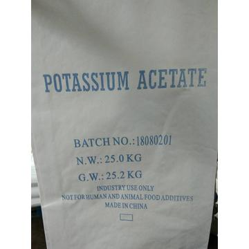 Potassium acetate food additive
