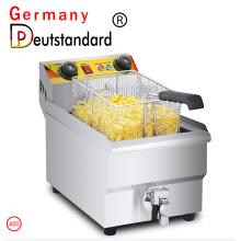 Electric Deep11L Fryer with single sifter