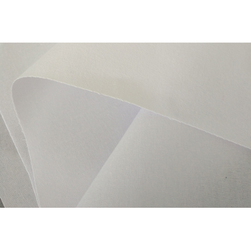 fusible interlining hdpe/white color collar interlining