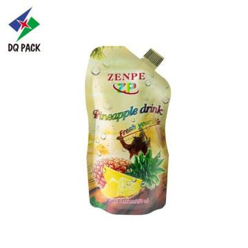 Plastic Juice Stand up pouch Packaging Bag