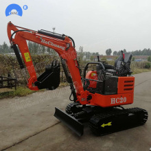 Good Quality for Small Excavator Factory price small farm use mini crawler excavator supply to Palestine Factories