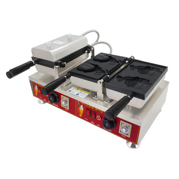 Two pcs taiyaki machine waffle maker for sale