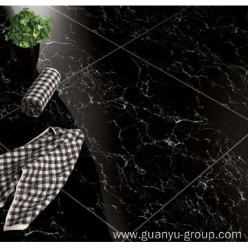 Middle Black Polished Porcelain Building Tile
