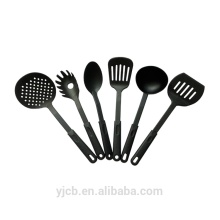 All Nylon Black Cookware Kitchen Cutlery Set