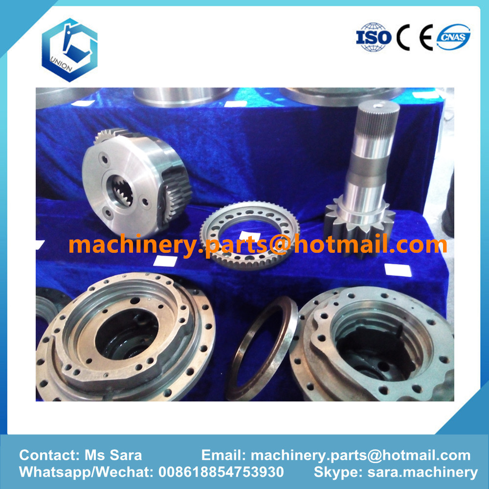 excavator travel and swing reduction gear parts