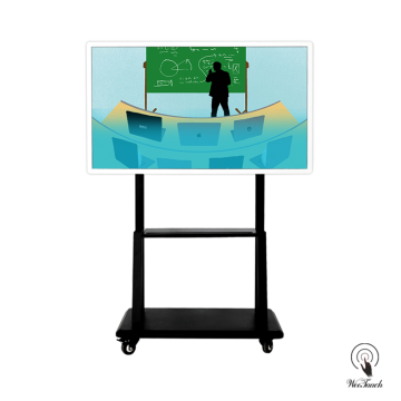 55 Inches Smart LED Panel With Mobile Stand