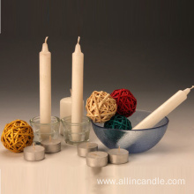 ISO Certificated No Smell White Pillar Candle