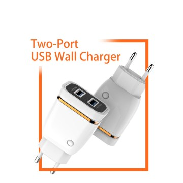 Wall Charger 2Port USB Charger  Fast Charger