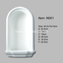 Customized for Decorative Wall Niches Polyurethane Diy Wall Niche supply to United States Exporter