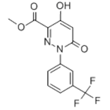 6-Hydroxy-4-oxo-1- [3- (trifluormethyl) phenyl] pyridazin-3-carbonsäuremethylester CAS 121582-55-6