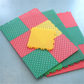 interlocking removable floor tiles for futsal court