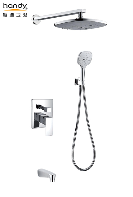 Trim Kit Combo Concealed Brass Shower