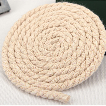 100% Cotton Natural Twisted Cotton Rope