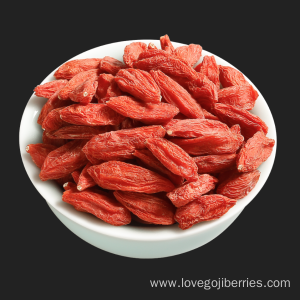 Organic Dried Goji Berries Healthy Food From Ningxia