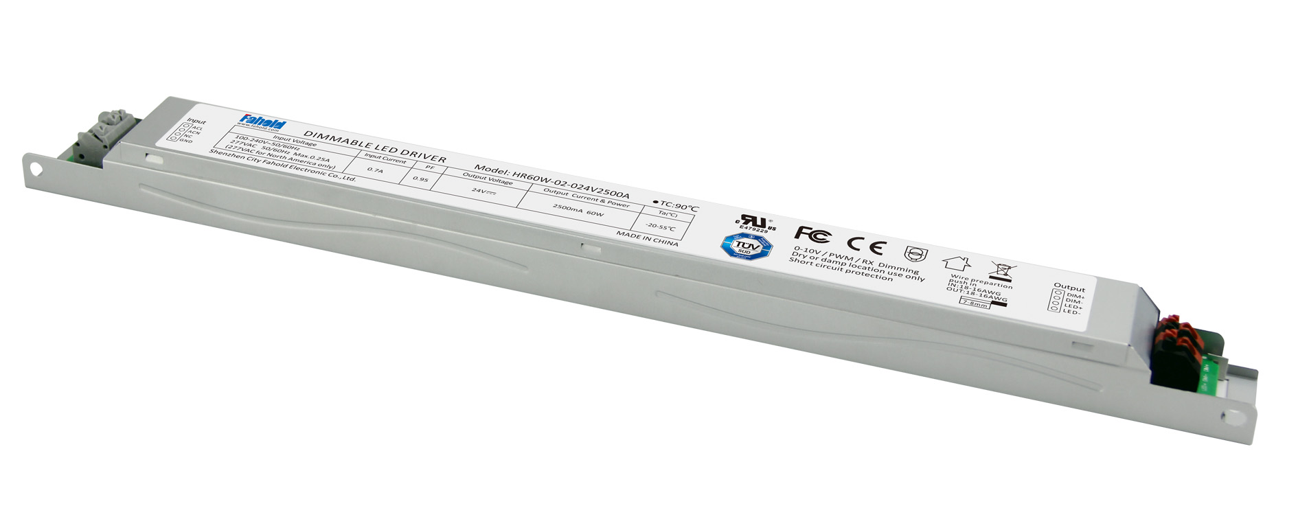 Constant Voltage 12/24V Led Linear Driver