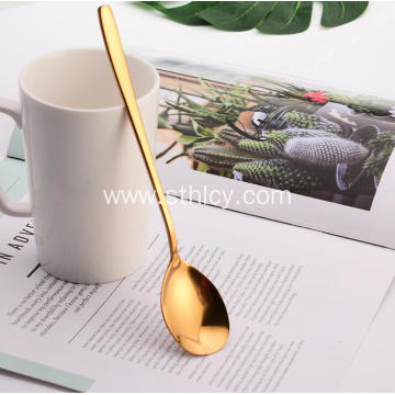 High-polish Multicolor 304 Stainless Steel Spoon