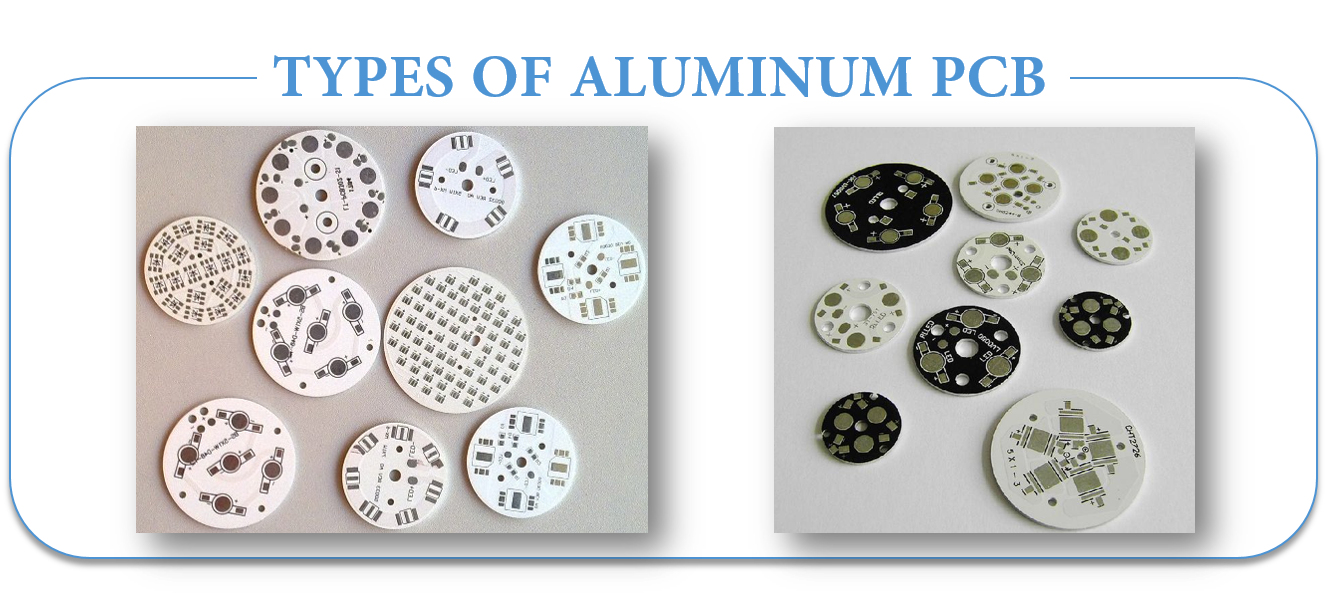 TYPES OF ALUMINUM PCB | JHYPCB