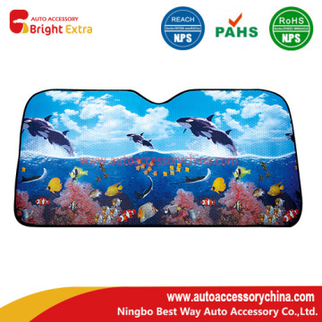 Car Windshield Reflective Sunshade Whale