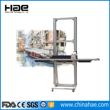 Horizontal Wall Printer 3D Wall Mural Printer Machine