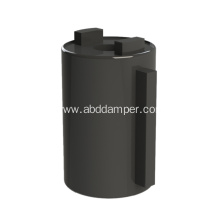 Best Quality for China Barrel Damper,Plastic Dampers,Manual Barrel Damper Supplier Small Cover Plate Soft Close Damper Barrel Damper supply to Indonesia Factories