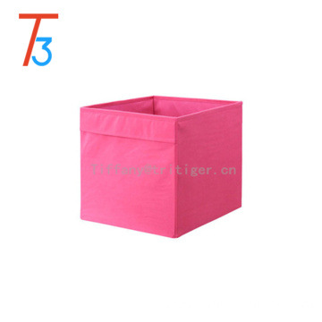 6 Pack Foldable Storage Boxes Clothing Storage Non-woven Fabric Bins For Toys
