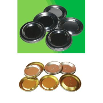 Tinplate for cardboard caps
