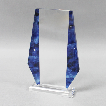 Chinese Professional for Acrylic Trophies And Awards Plexiglass business award trophies plaques export to Italy Manufacturer