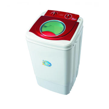 Red Plastic Cover 7KG Single Tub Washing Machine
