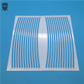 insulating electronic zirconia ceramic cooling fin substrate
