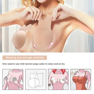 Adhesive Bra - Womens Cat Ears Strapless Backless Bra