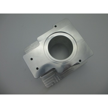 Aluminum Fabricated Products with White Anodize