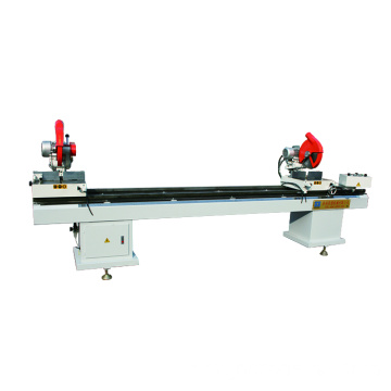 Double-head Cutting Saw for Aluminum & Plastic Profile