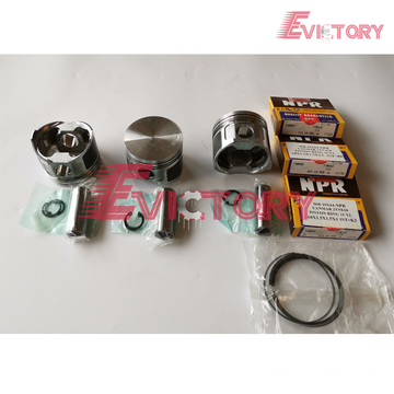YANMAR engine piston 3TN82 piston ring