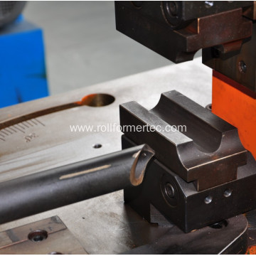 Metal angle steel tube hole punching machine