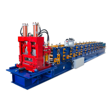 New CZ purlin roll forming machine
