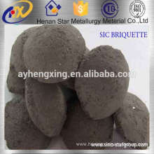 China Manufacture Silicon Carbide Briquette As Deoxidizer in steelmaking