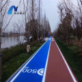 Eco-Friendly  Spraying Polyurea SPUA-90 AB Courts Sports Surface Flooring Athletic Running Track