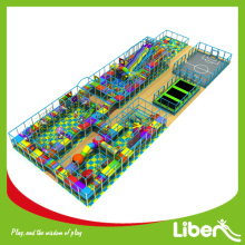 Indoor playground for birthday party