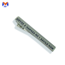 Stainless steel custom silver tie bar pin