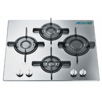 Stainless Steel Kitchenware 4 Burner Cooktop