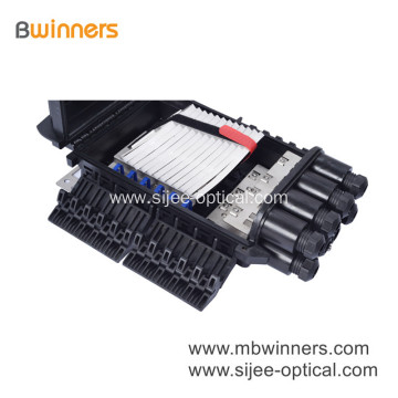 Optical Fiber Connection Box 24 48 96 144 288 Core Fiber Optic Closure
