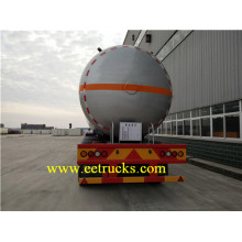 China for Bulk LPG Tank Trailers 59.5 CBM 25 TON Propane Transport Trailers export to Mauritius Suppliers
