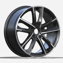 Black Machined Audi Replica Wheels