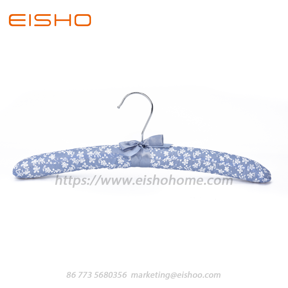 Bb08 Satin Padded Clothes Hanger
