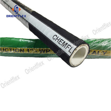 1inch UHMWPE flexible chemical hose pipe 200 psi