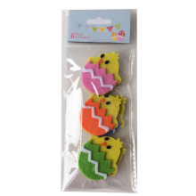 Easter chick and Easter egg shape sticker